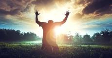 man-pray
